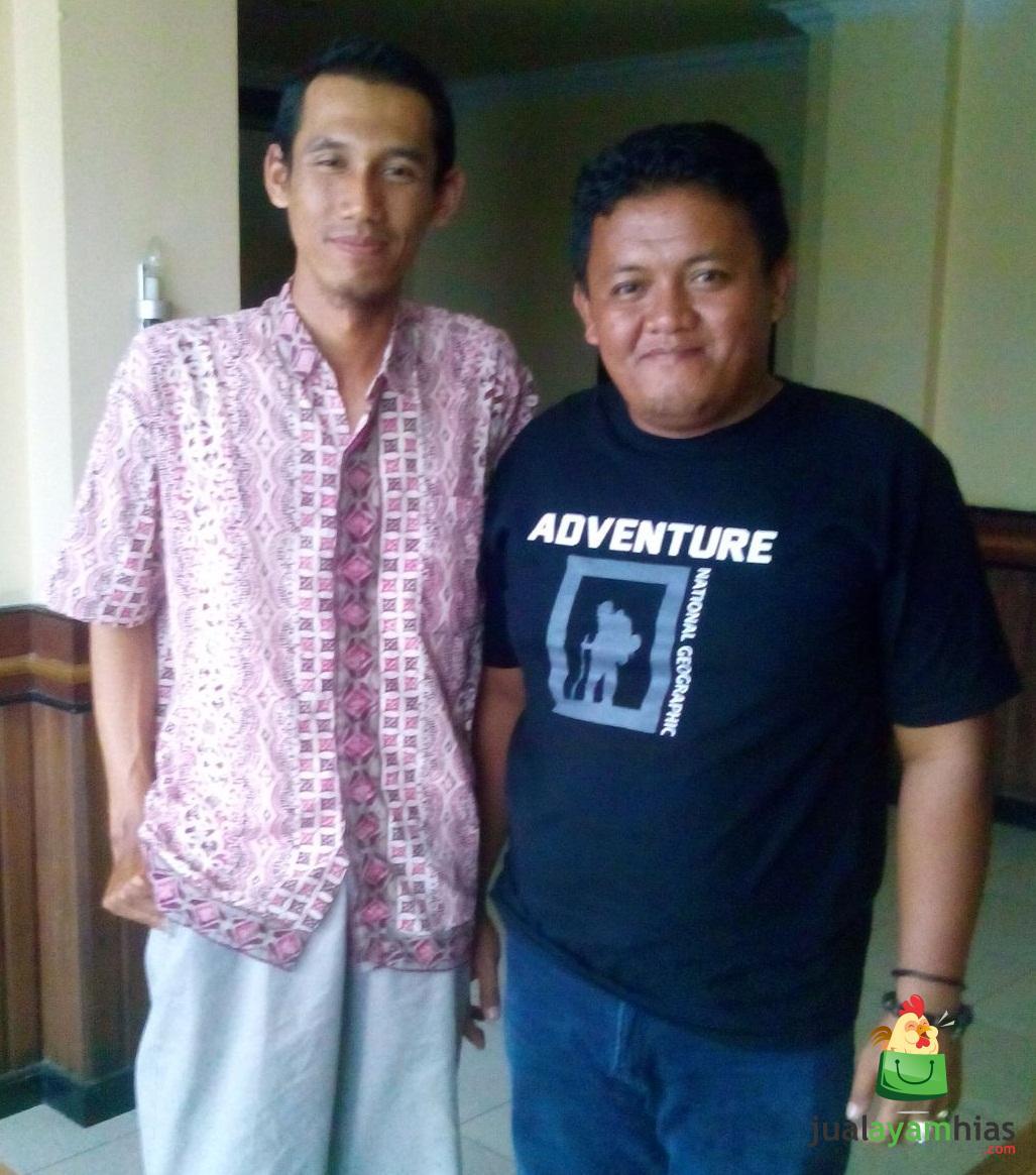 Bertemu dengan Pak Toni Pelanggan Kami dari Tanjung Redeb, Berau, Kalimantan Timur