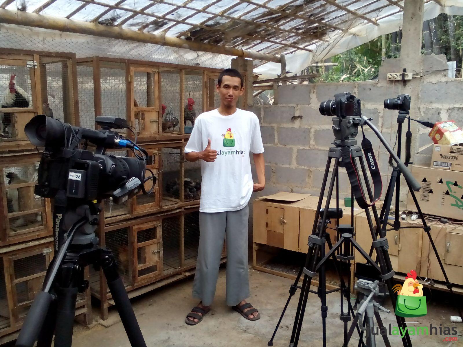 Liputan TVRI Pusat Jakarta Dalam Acara Kabar Dari Petani