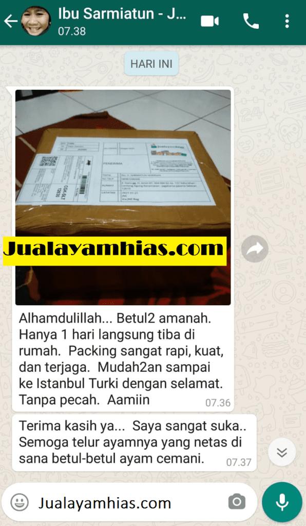 Ibu Sarmiatun 10 telur cemani Jakarta testimoni jualayamhias Jual Ayam Hias HP : 08564 77 23 888 | BERKUALITAS DAN TERPERCAYA testimoni jualayamhias Testimoni Jualayamhias
